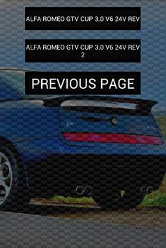 Engine sounds of Alfa GTV apk screenshot