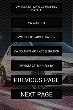 Engine sounds of Golf GTi apk screenshot