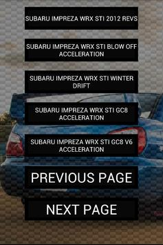 Engine Sounds of Impreza STi apk screenshot