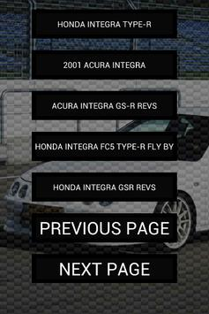 Engine sounds of Integra TypeR apk screenshot