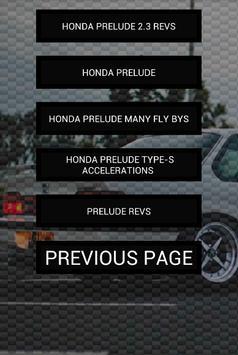 Engine sounds of Prelude apk screenshot