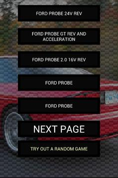 Engine sounds of Ford Probe poster