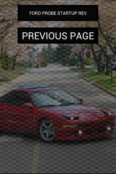 Engine sounds of Ford Probe apk screenshot