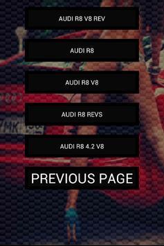 Engine sounds of R8 apk screenshot