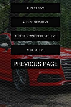 Engine sounds of Audi S3 apk screenshot