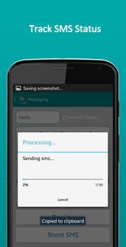 SMS Shooter | Bulk Group SMS apk screenshot