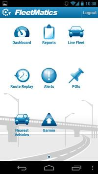 FleetMatics Mobile poster