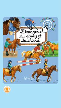 Imagerie poneys interactive poster