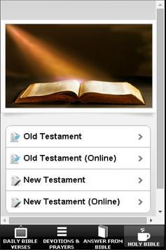 Holy Bible & Prayers apk screenshot