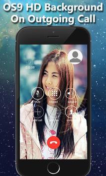 HD OS9 i Calling Screen ID apk screenshot