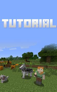 Tutorial For MineCraft poster