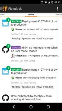 Flowdock apk screenshot