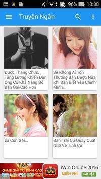 Truyen Ngan Hay apk screenshot
