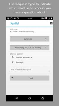 Xprtly! XaaS User apk screenshot