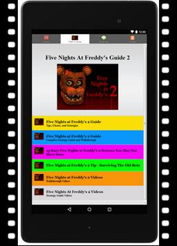 Guide Five Night Freddy 2 Hack poster