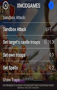 X MOD For COC apk screenshot