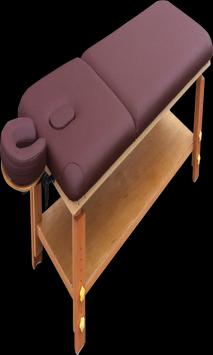 comfort massage poster