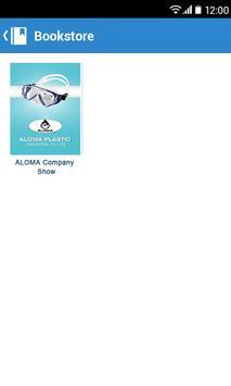 ALOMA Gopro Diving Mask poster