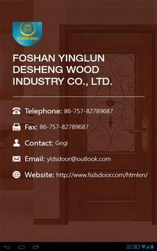 FOSHAN DESHENG DOOR HD apk screenshot