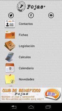 Sistema Juridico Fojas apk screenshot