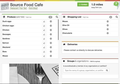 FoodTrade apk screenshot