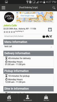 Food Ordering Application apk screenshot