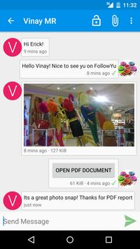 FollowYu Messenger apk screenshot