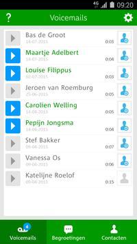 Voicemail App voor Hi klanten poster