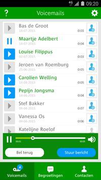 Voicemail App voor Hi klanten apk screenshot
