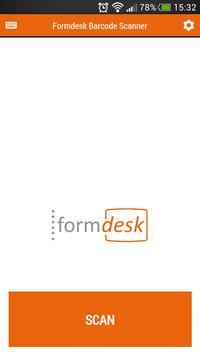 Formdesk Barcode Scanner poster