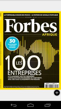 Forbes AFRIQUE poster