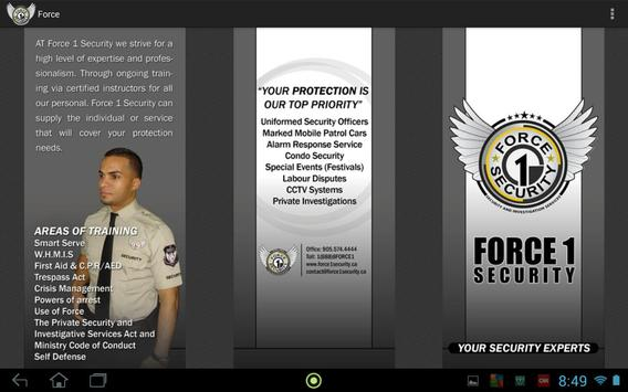 Force1security poster