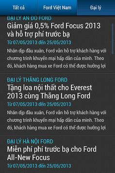 Ford VietNam apk screenshot
