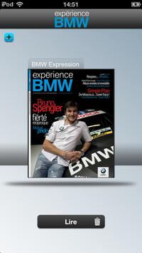 Experience BMW Canbec poster