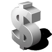 Discrete Notifier: Finance icon