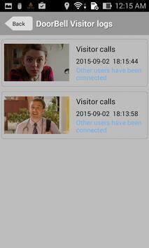Wifi Video Doorbell apk screenshot