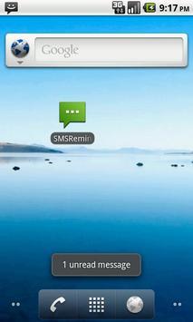 SMS Reminder Lite apk screenshot