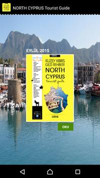 North Cyprus Tourist Guide poster