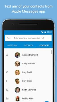 SMS Sync for iMessages apk screenshot