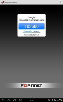 FortiToken Mobile apk screenshot