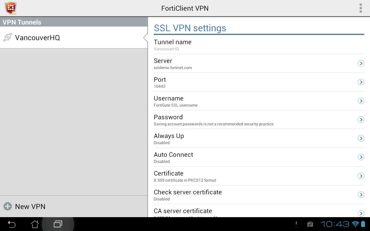 Forticlient ssl vpn para android stjohnsbh org uk