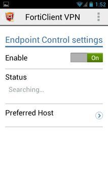 FortiClient VPN apk screenshot