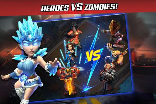 Last Heroes: Battle of Zombies apk screenshot