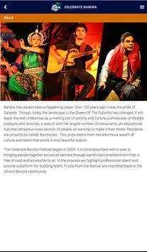 Celebrate Bandra apk screenshot