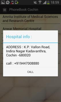 PhoneBook Cochin apk screenshot