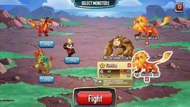 Trick for Monster Legend poster