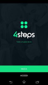 4steps - Tutto a quattro passi poster