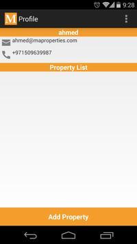 Manazel Real Estate apk screenshot