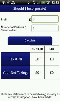 Tax Apps UK apk screenshot