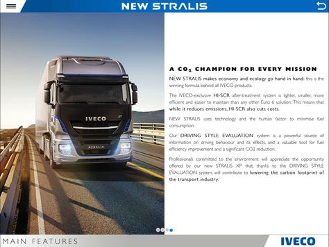 IVECO NEW STRALIS tablet apk screenshot